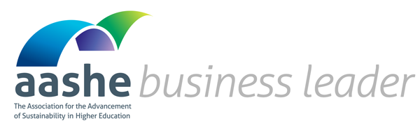 AASHE Business Leader Logo