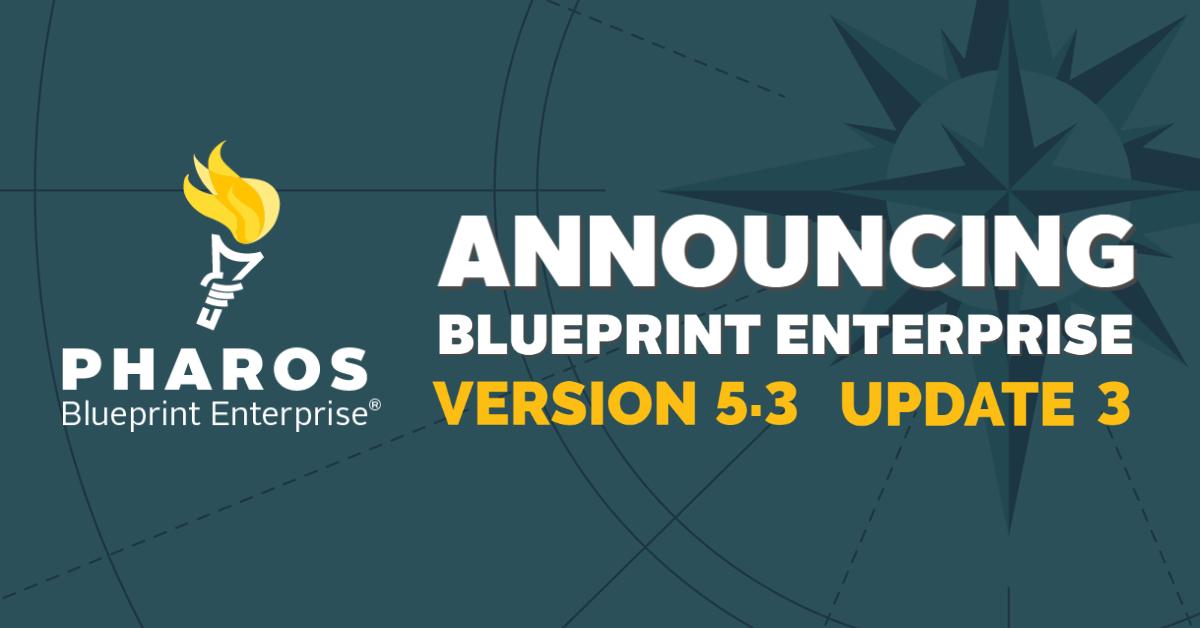 Blueprint Enterprise 5.3 Update 3