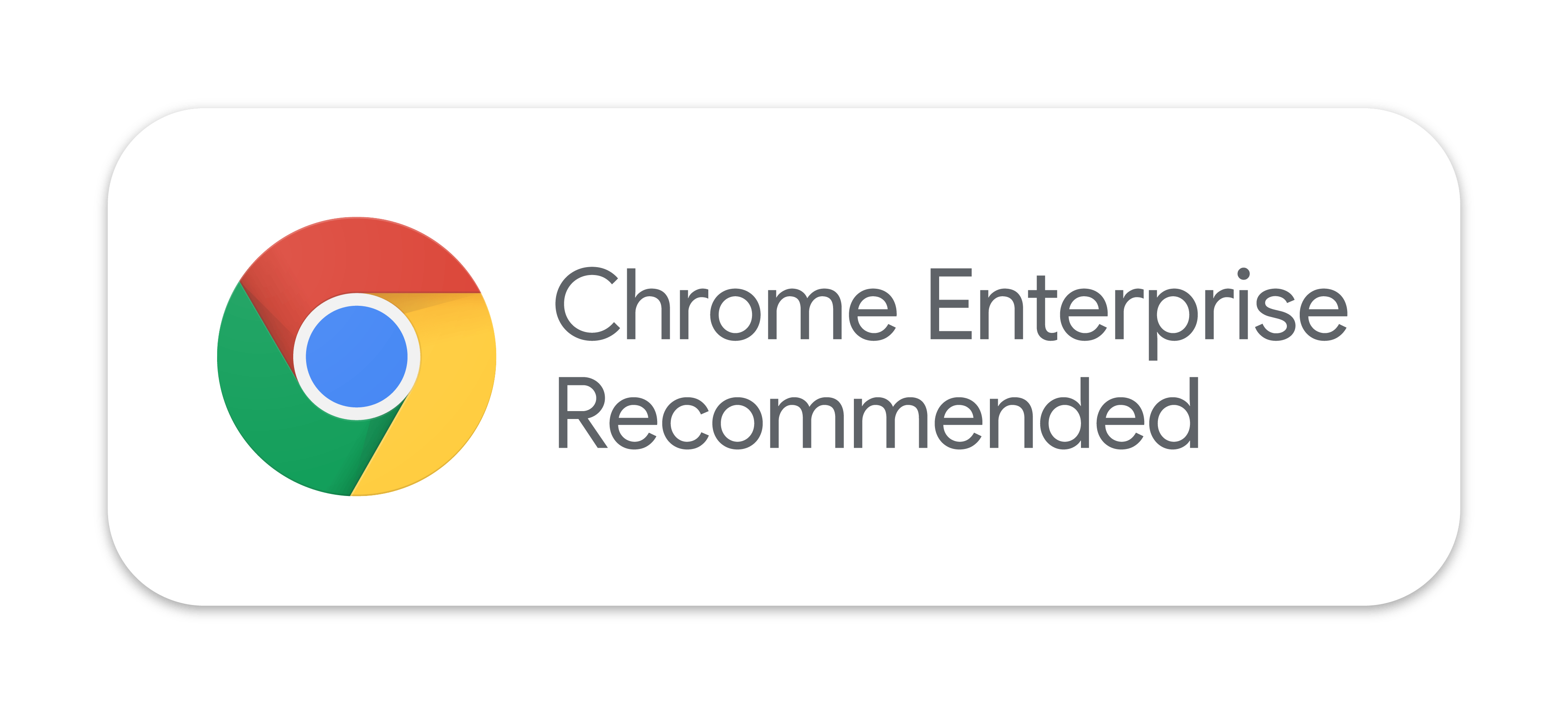 Chrome Enterprise Recommended