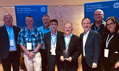 Pharos and HP at the 2019 HP Partner Conference