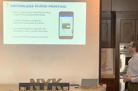 Driverless cloud printing