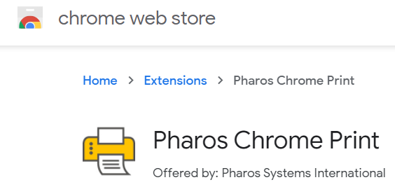Pharos Chrome Print
